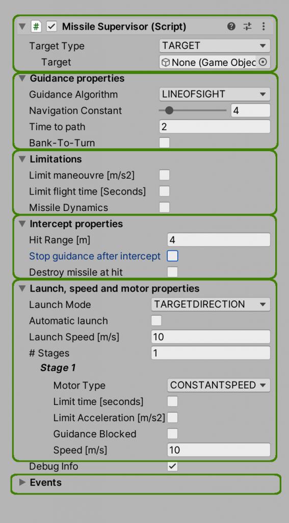 Controlled Flight - Missile Supervisor Component