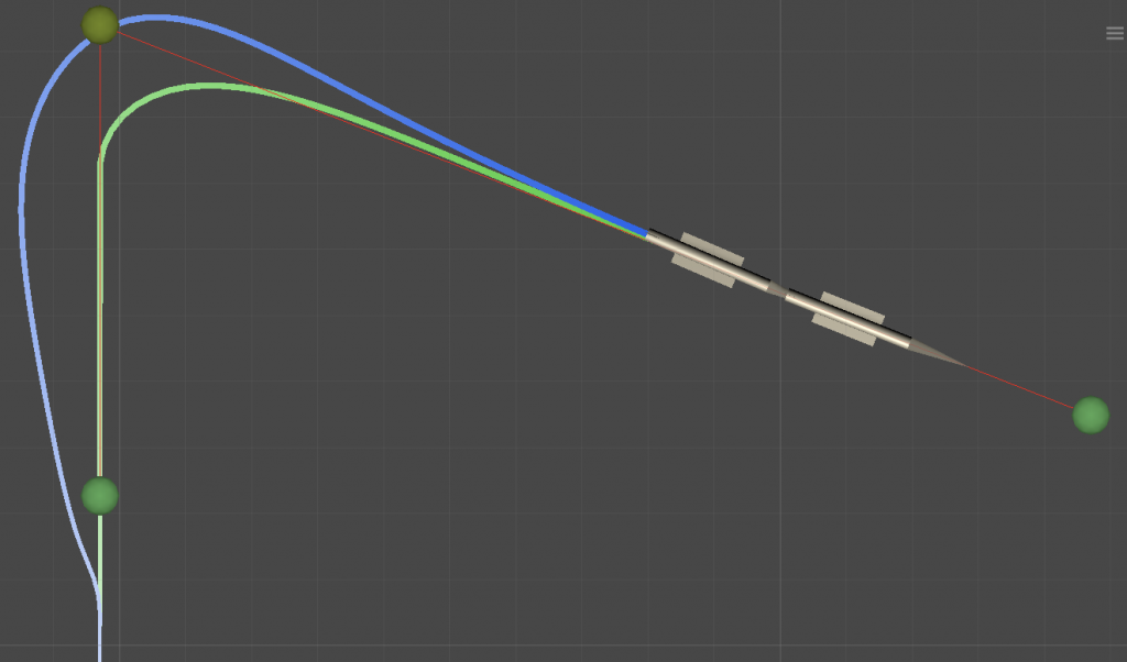 Path Following - Balanced Turn