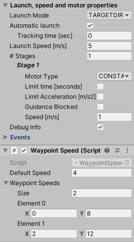 Controlled Flight - Waypoint Speed